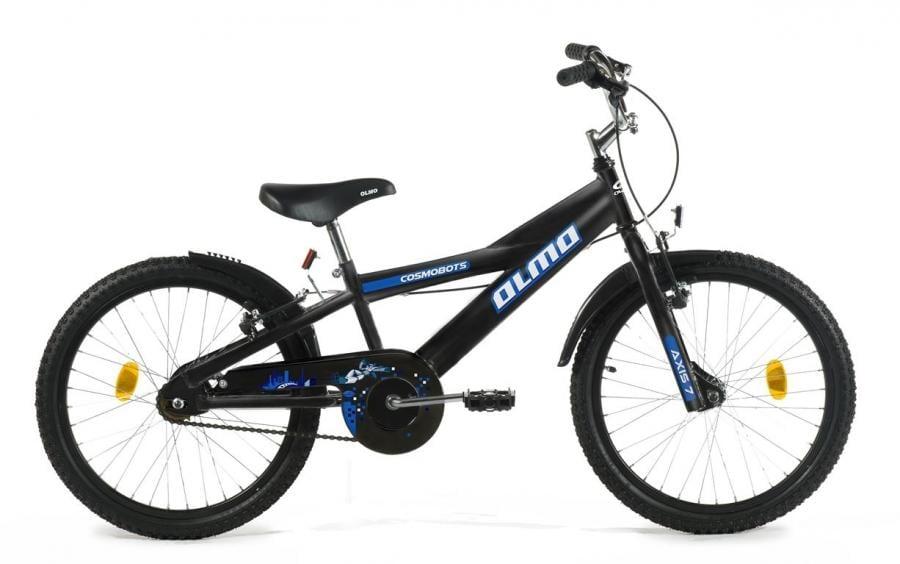 "Olmo Cosmo Bots 20"" Bicicleta (Negro mate/Azul)"